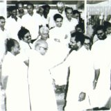 Sri. Chandrasekhar, the then Prime Minister of India, at Amala